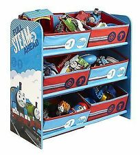 Thomas & Friends 6 Bin Storage Bedroom Furniture Tank Engine