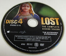 Lost Season 2 DVD Replacement Disc 4 Only