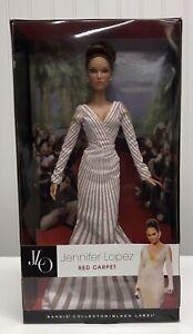 BARBIE Collector JENNIFER LOPEZ Red Carpet BLACK LABEL 2013 Mattel NIB
