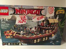 LEGO The Ninjago Movie Destiny's Bounty 70618 New Sealed