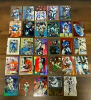 (28ct) Herman Moore Football Card Lot Inserts Rookies  DETROIT LIONS NO DUPES