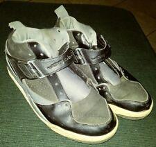 Jordan FLIGHT 45 Mens SIZE 9.0 Black/Gym Red-Cool Grey-White 644846-006 Shoes