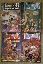 Marvel Comics 1991 Punisher P.O.V. POV Complete 1 2 3 4 Nick Fury Shield