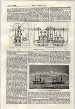 1897 Engines Of The Cricket Tug-of-war Between Basilisk And Niger 1849