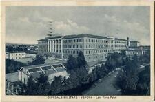 1939 Verona - Ospedale militare Lato Porta Pallo vista dall'alto - FP B/N VG