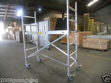 "Aluminium Mobile Scaffold F21A,Platform Height 1.96m with 5"" casters"