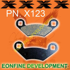 X123 BRAKE PADS POLARIS BIG BOSS RANGER SPORTMAN MAGNUM