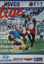 Programm 1997/98 HSV Hamburger SV - 1. FC Köln