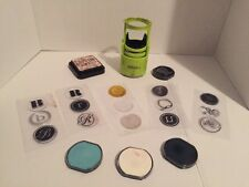 Hampton Art I-Press Switchable Self Inking Stamps Ink Pads Lot