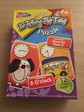 Grafix My First 3D Telling The Time Puzzle