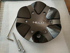 Helo Black Center Cap T110L183, LG1510-07 for Helo HE891 wheels