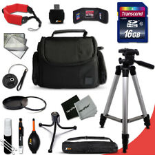 Ideal Accessories KIT f/ Canon PowerShot SX600 HS w/ 16GB Memory + Case +MORE