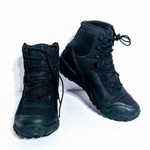 SZ 10 Under Armour UA Women's Black VALSETZ RTS 1.5 Tactical Boots - 3021037