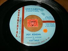 JOY KENDAL - LOVE IS A RIVER - WHERES THE BOY / LISTEN - VOCAL GIRL JAZZ POPCORN