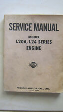 Nissan-Model-L20A-L24-Series-ENGINE-Service-Manual FACTORY lovingly used