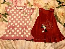 Disney Minnie Mouse Baby Girl dress bundle size 9-12 months