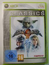 !!! 360 Xbox juego Soul Calibur IV, usado pero bien!!!