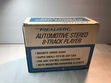 Vintage New Realistic Stereo 8-Track Player 12-1802B Car Auto / Radio Shack
