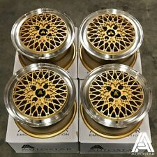 "Autostar Minus 15"" x 7.5"" 4x100 et25 G alloys fit Toyota Mr2 Mk1 1984 - 1988"