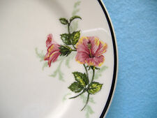 SYRACUSE CHINA PLATES-4-FLOWERS OF THE SOUTHLAND-ATLANTIC COAST LINE RR-1988