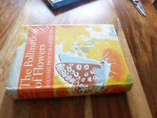 NEW NATURALIST POLLINATION  OF FLOWERS 1973 1ST UNFADED SPINE
