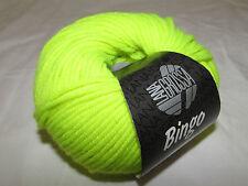 Lana Grossa Bingo 701 Neon gelb 50g