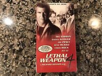 Lethal Weapon 4 New Sealed Vhs. 1998 Thriller/Action.