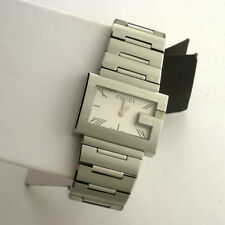 edcb3f69981 Gucci YA100506 G-Case 100G Series Stainless Steel Link Band Swiss Watch in  Box