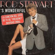 "ROD STEWART ""'S WONDERFUL"" SPANISH PROMO CD SINGLE / FREIXENET 2004 COMMERCIAL"