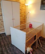 Chambre de Bébé Armoire Commode Lit 140x70 Convertible Complet D'Enfants