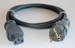 Supra Cables LoRad SPC 2.5 Silver CS EU  Anniversary Edition Netzkabel 2m