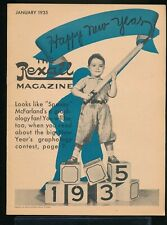 SPANKY McFARLAND Little Rascals OUR GANG Cover The REXALL Magazine January 1935