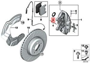 For BMW Genuine Disc Brake Caliper Repair Kit Front 34116850935
