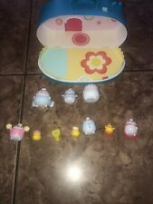 Molang Home Playset Lot 9 Characters And The House RARE!!!