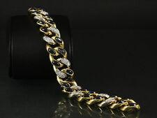Pomellato Saphir Brillant Armband ca. 21,12ct   94,2g 750/- Gelbgold & Weißgold