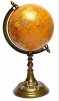 "Details about  Antique World Globe 16"" Tall Collectible Nautical Tabletop Vinta"