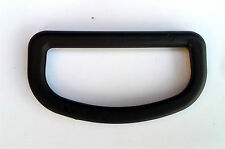 """Nexus d-ring 50mm (2"""") lot de quatre en plastique noir sangle d anneaux (DR50)"""