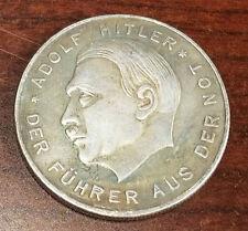 Nazi Third Reich Adolf Hitler coin 1929 Exonumia WW2 WWII German Germany