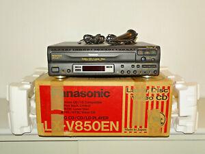 Panasonic LX-V850EN NTSC Karaoke LaserDisc Player, OVP&NEU, 2 Jahre Garantie