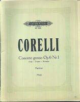 Corelli - Concerto grosso Op. 6 Nr. 1 D-Dur - Partitur plus alle Stimmen