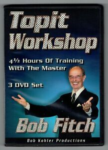 CLEARANCE SALE - Topit Workshop (3 DVD Set) by Bob Fitch - New Magic 3 DVD Set