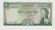 More details for p8b jersey 1963 issue £1 banknote in mint condition.