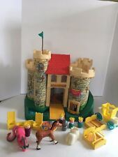 Vintage 1972 Fisher Price Play Family Castle Little People #993