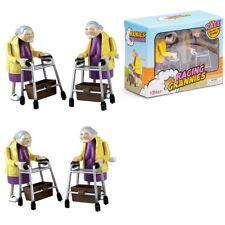 Aufziehbare Rasende Oma mit Rollator im 2-er Pack, Senioren Racing Granny