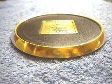FIREMAN'S FUND McGee Marine Underwriters 1st Year Anniversary Brass Paper Weight
