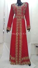 Oriental Bata Dubái Moderno Khaleeji Thobe Boda Vestido para Mujer 6031