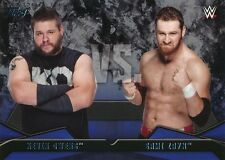 #7 KEVIN OWENS vs SAMI ZAYN 2016 Topps WWE Then Now Forever WWE RIVALRIES