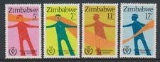 Zimbabwe - 1981, International Year of Disabled Persons set - MNH - SG 602/5