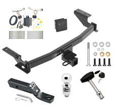 """Trailer Tow Hitch For 17-19 Mazda CX-5 Deluxe Package w/ Wiring & 2"""" Ball & Lock"""