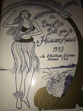 Detroit Elliottorian Black Business Women's Club Beaux Arts Ball 1993 Hawaiian